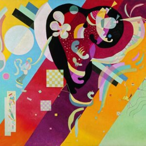 Composition IX by Wassily Kandinsky canvas print