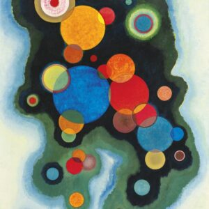 Deepened Impulse by Wassily Kandinsky Canvas Print Painting