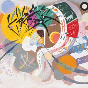 Canvas Print Dominant Curve by Wassily Kandinsky