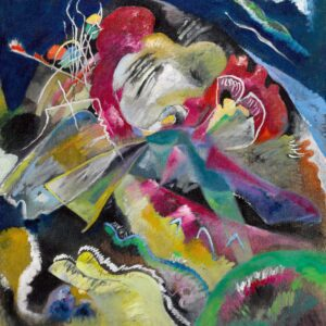 Painting with White Lines by Wassily Kandinsky