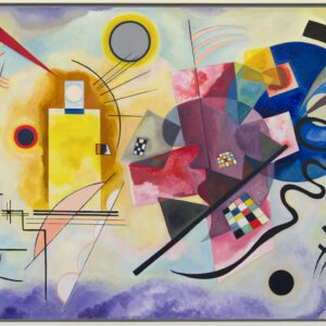 Yellow-Red-Blue by Wassily Kandinsky print