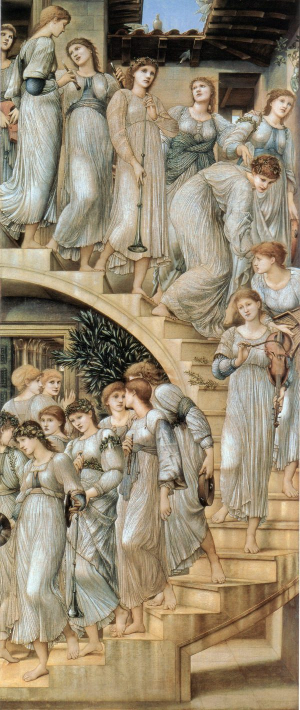 The Golden Stairs Painting by Edward Burne-Jones