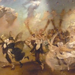 Parce Domine Painting By WILLETTE Adolphe