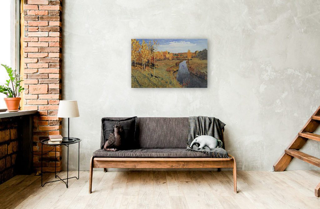 Choose wall art painting according to rooms design and style