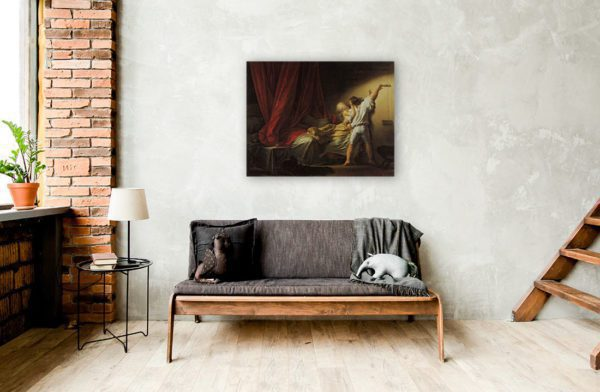 The Bolt Painting Wall Art LavelArt.com For Sale Best Price