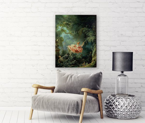 The Swing painting wall art canvas print For Sale On Lavel Art