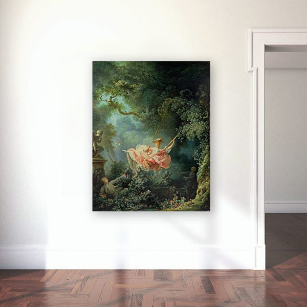 The Swing painting wall art canvas print LAvel Art Best prices