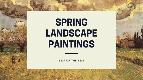 Photo Of pring landscape paintings