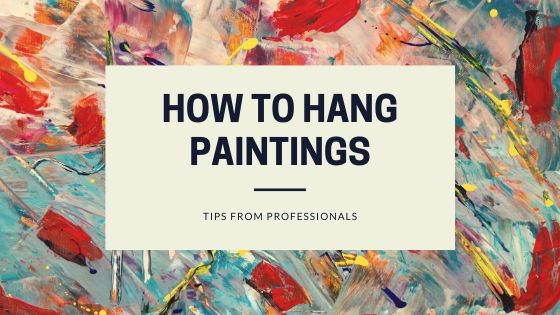 How to hang paintings - Photo