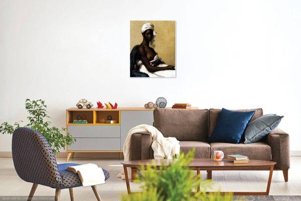 Painting Of A Black Woman