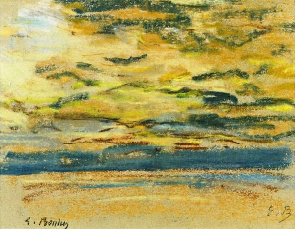 Sky By Eugene Boudin Print on canvas wall art
