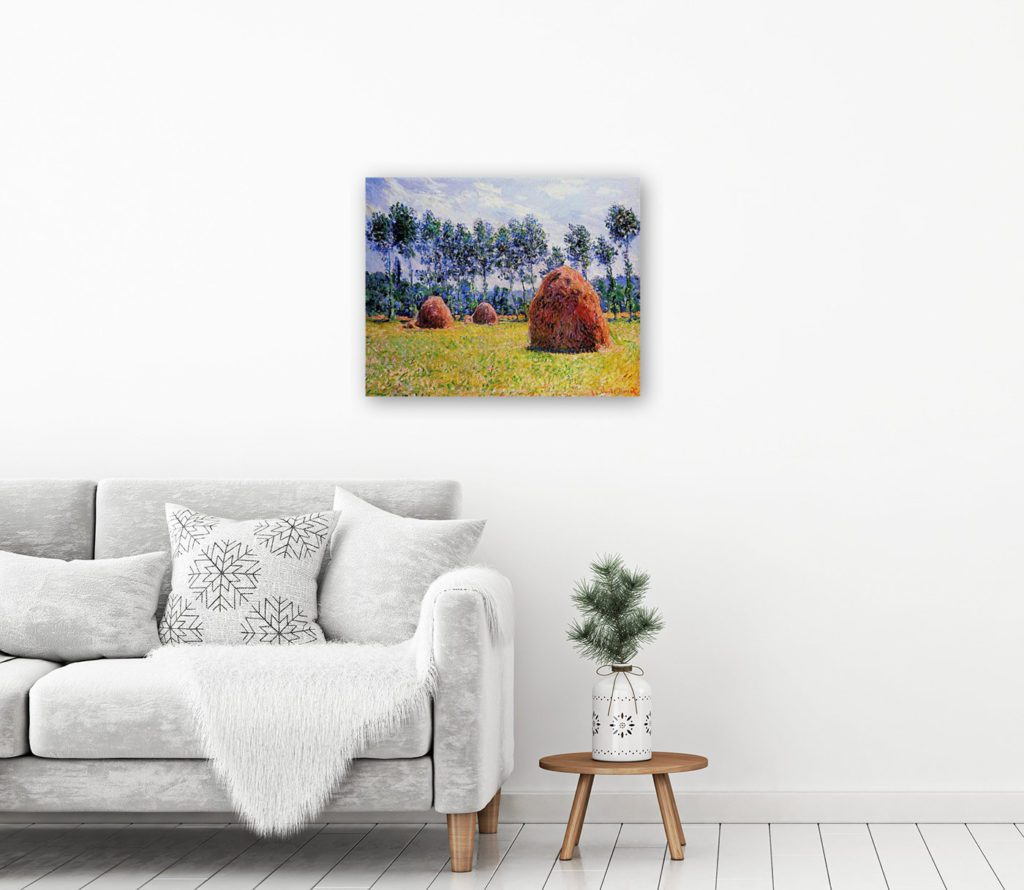 canvas print of painting