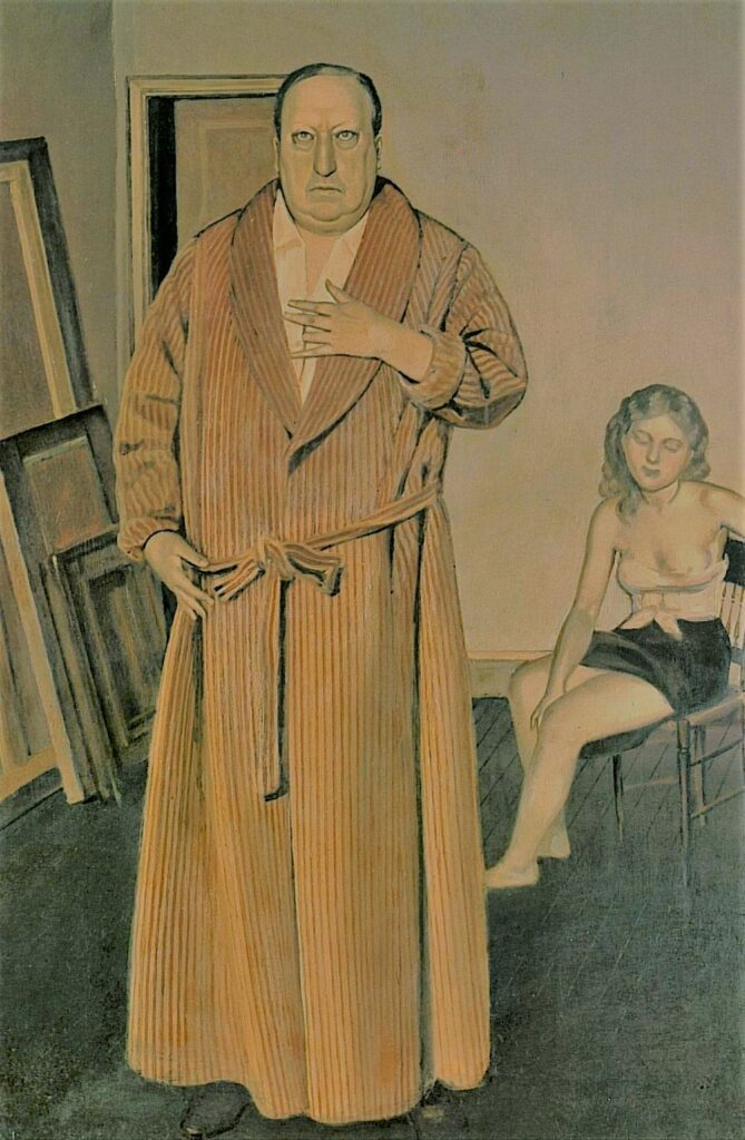 Andre Derain Painting by Balthus Canvas Print Wall Art