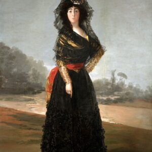 goya duchess painting waterproof print on canvas for sale
