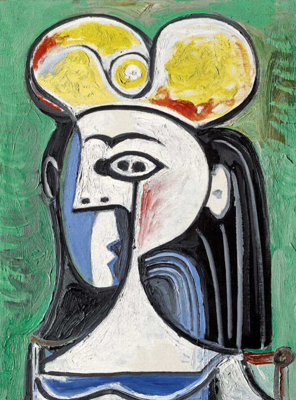 Buste de Femme Assise By Picasso photo