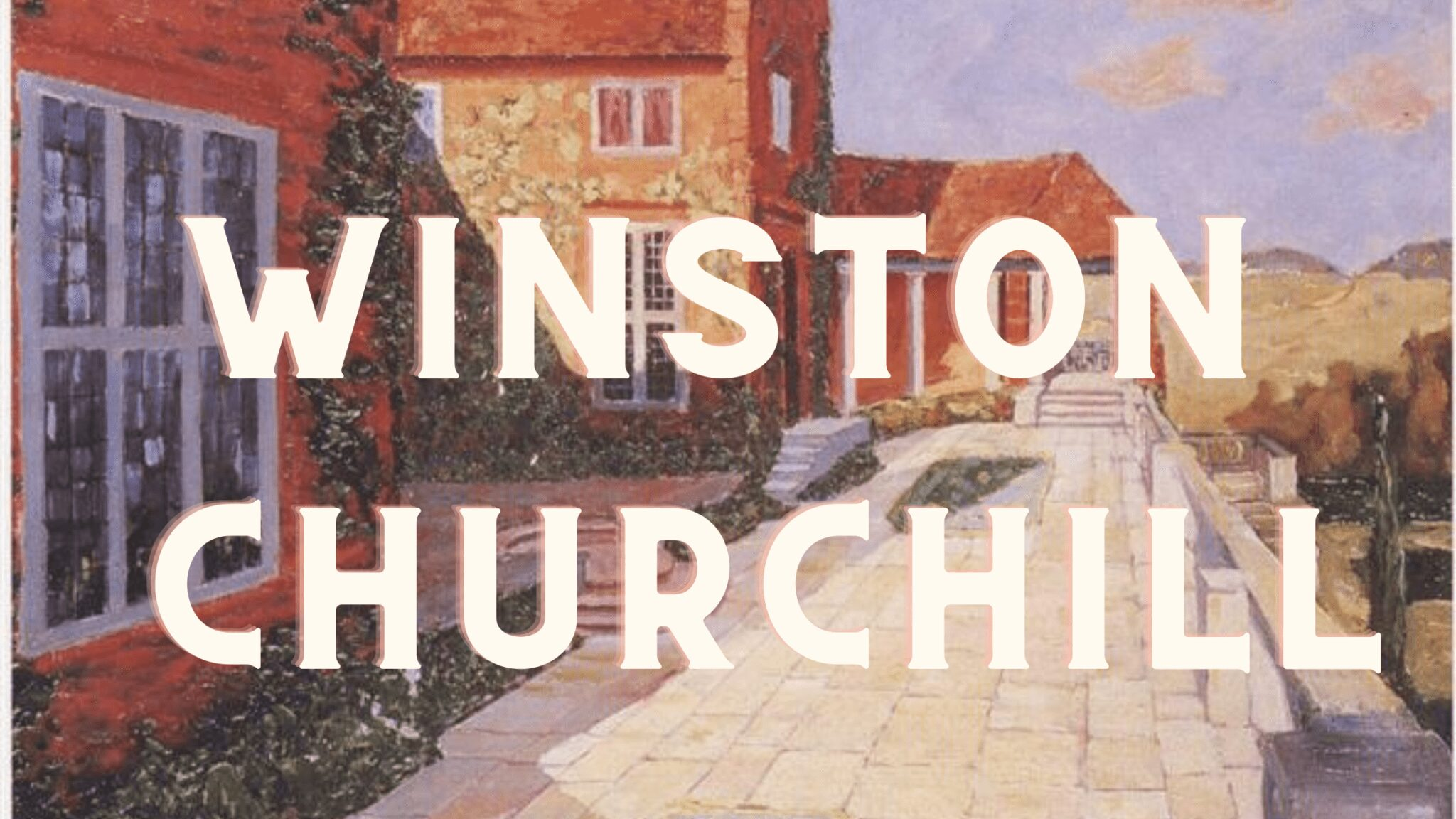 Winston Churchill painting images video compilation