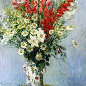 Lilies and Dasies by Claude Monet