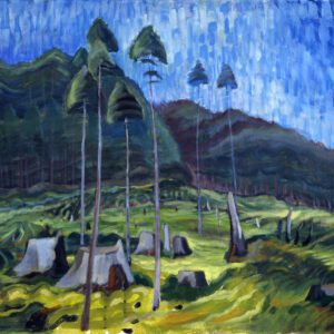 Odds and Adds Painting by Emily Carr