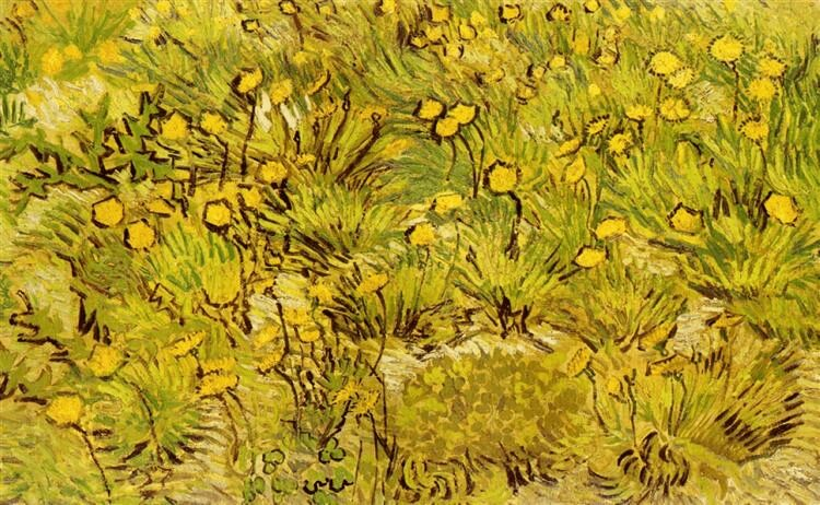 Vincent Van Gogh yellow flowers photo painting