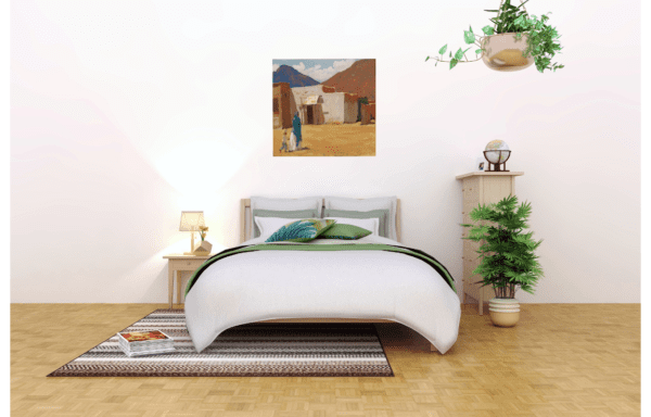 In Old Tucson by Maynard Dixon photo