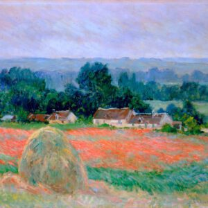photo Haystack at Giverny by Claude Monet