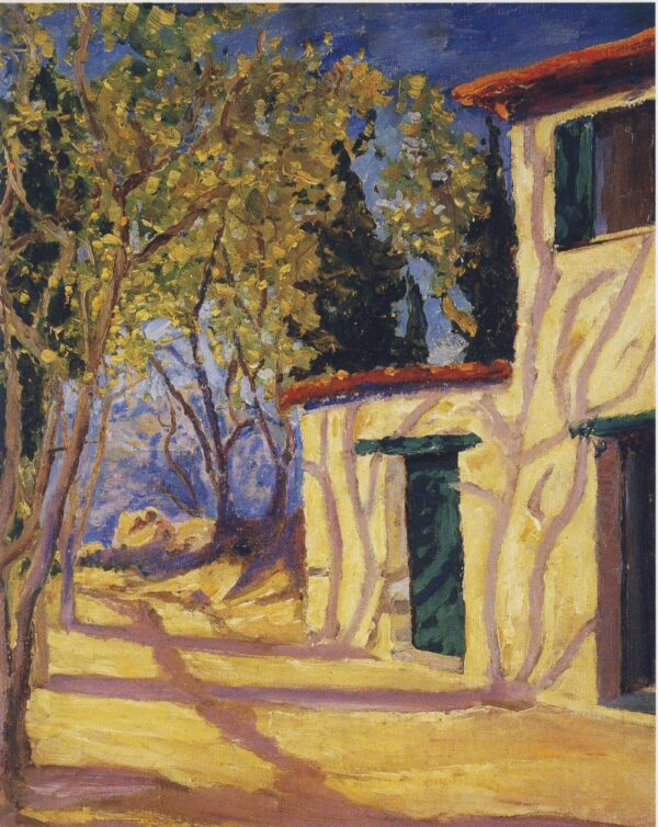 Village House in Southern France W Churchill