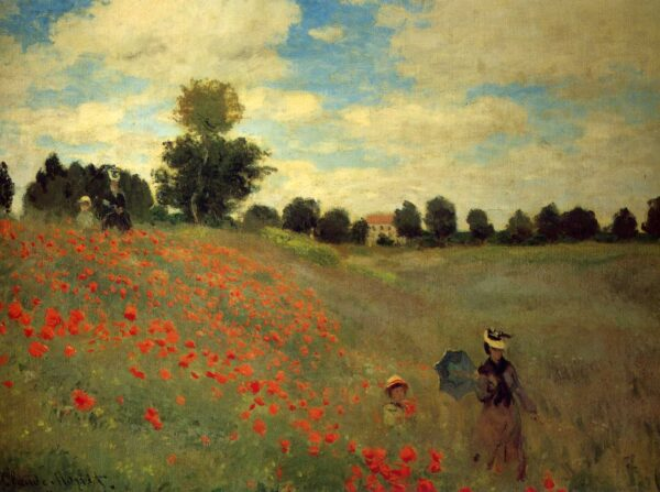 Poppies At Argenteuil Lavelart.com
