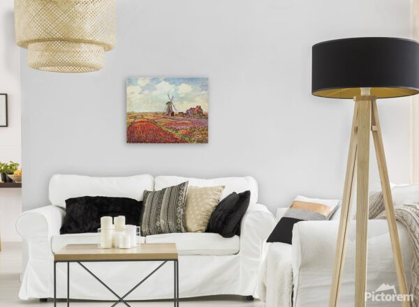 Fields of Tulips In Holland Print