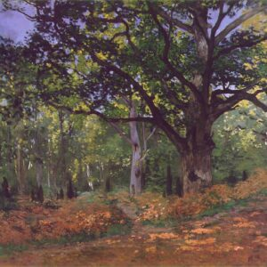 The Forest of Fontainebleau Canvas Print Wallart Lavelart Photo