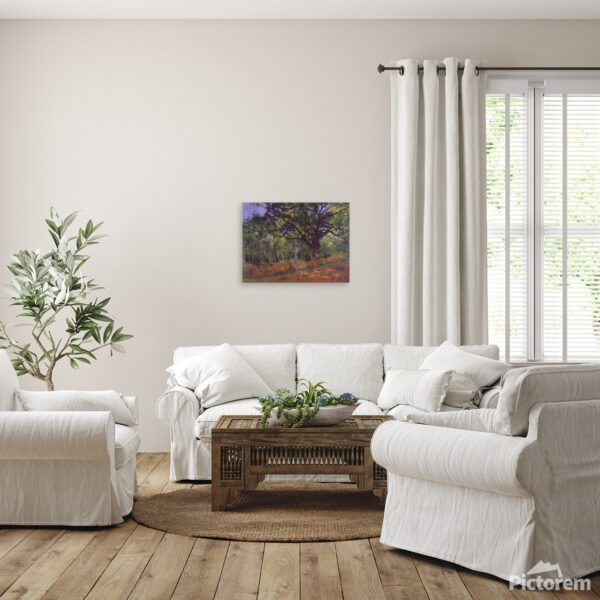 The Forest of Fontainebleau Canvas Print Wallart Lavelart Photo 3