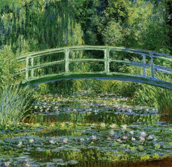 The Water-Lily Pond Claude Monet Canvas Print Wallart Photo